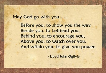 May God go with you, Ogilvie