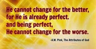 Immutability of God - Pink