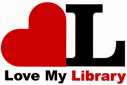 LoveMyLibrary red logo